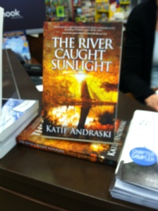 The River Caught Sunlight at Barnes and Noble in Westport, CT thanks to Tricia Tierney